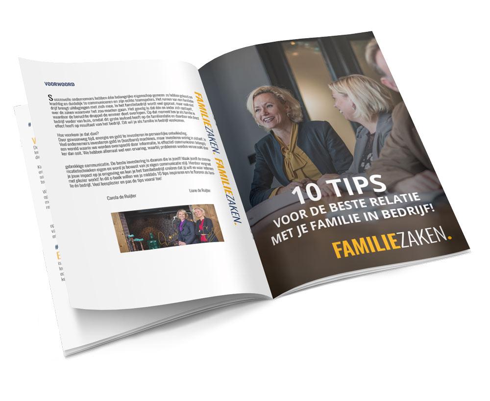 e-book 10 tips voor je familie in bedrijf